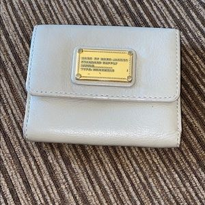 Marc by Marc Jacobs grey fold out wallet